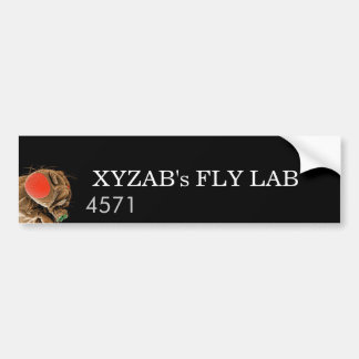 FLY LAB BUMPER STICKER