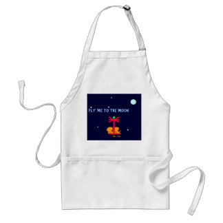 FLY ME TO THE MOON - APRON