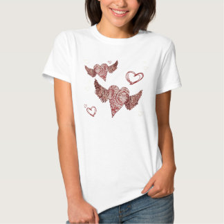 Fly My Heart Away T-shirts