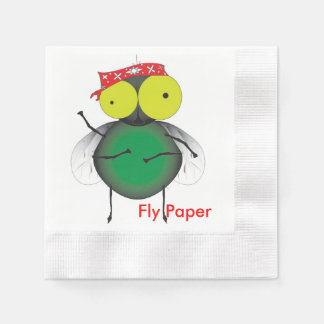 Fly Paper Paper Napkin