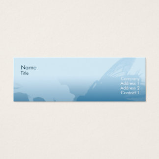Fly - Skinny Mini Business Card