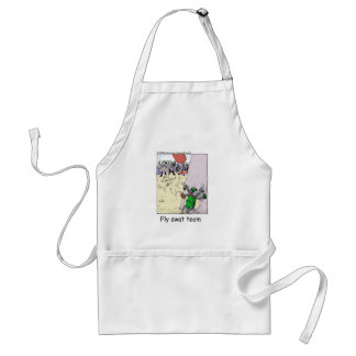 Fly Swat Team Funny Police Gifts & Collectibles Standard Apron