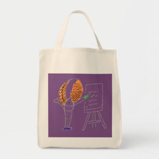 Fly Teacher Grocery Tote