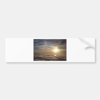 fly the heavenly skies bumper sticker