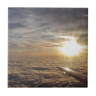 fly the heavenly skies ceramic tile