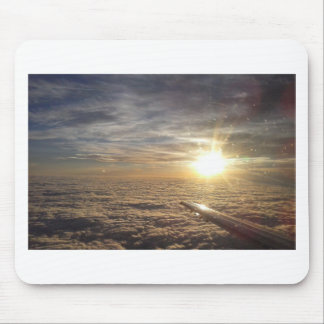 fly the heavenly skies mouse pad