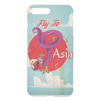 Fly to Asia Vintage Travel iPhone 7 Plus Case