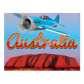 Fly To Australia Postcards