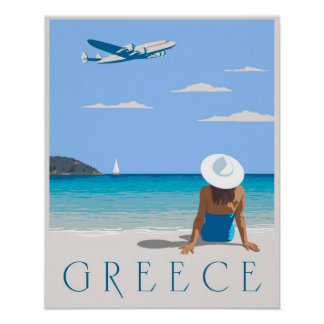 Fly to Greece Poster