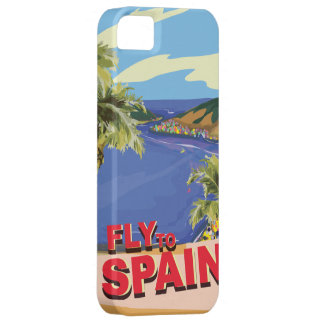 Fly To Spain iPhone 5 Cover