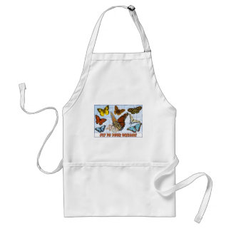 Fly To Your Dreams Adult Apron