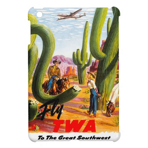 Fly TWA to the Great Southwest! iPad Mini Cover