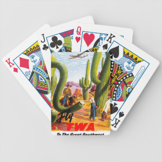 Fly TWA to the Great Southwest! Card Deck