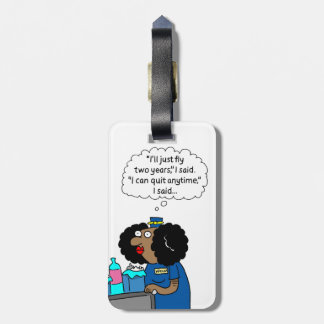 Fly Two Years Luggage Tag