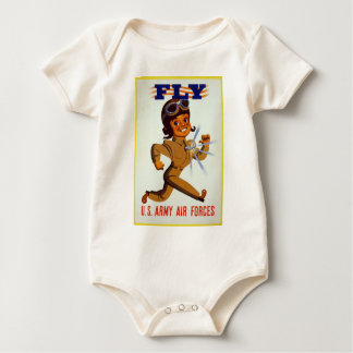Fly - U.S. Army Air Forces Baby Bodysuit