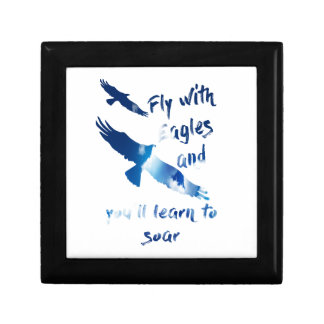 Fly with eagles gift box