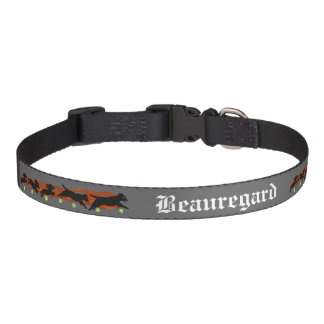 Flyball Dog Sports Custom Pet Name Collar Pet Collars