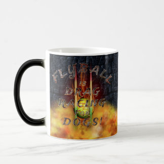 Flyball Flamz: Drag Racing for Dogs! Magic Mug