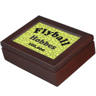 Flyball Hobbes, 100,000 Points Keepsake Boxes