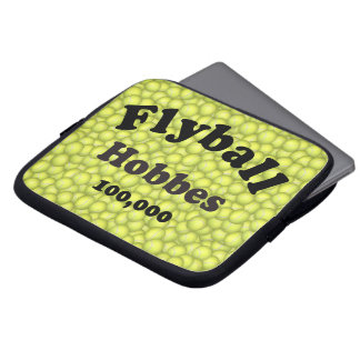 Flyball Hobbes, 100,000 Points Laptop Sleeve