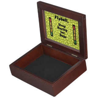 Flyball Iron Do - 10 years of competition! Keepsake Box
