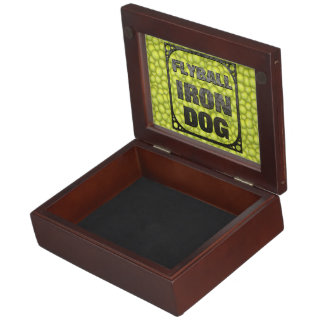 Flyball Iron Do - 10 years of competition! Keepsake Boxes