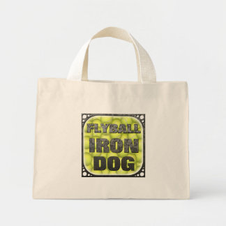 Flyball Iron Dog - 10 years of competition! Mini Tote Bag