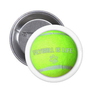 Flyball is Life 6 Cm Round Badge