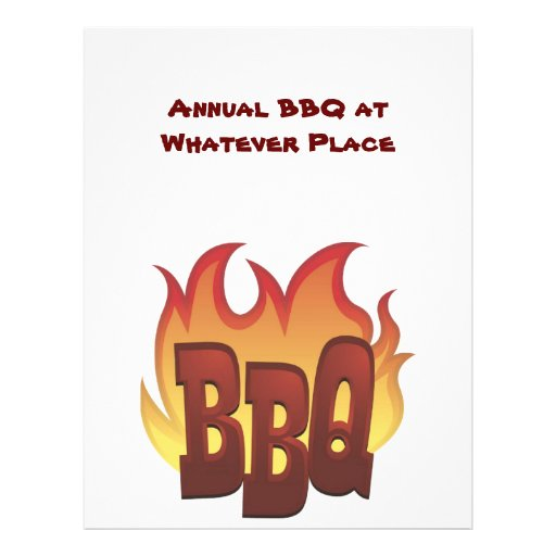 Flyer BBQ Invitation