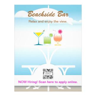 Flyer Template Beachside Bar