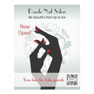 Flyer Template Nail Salon
