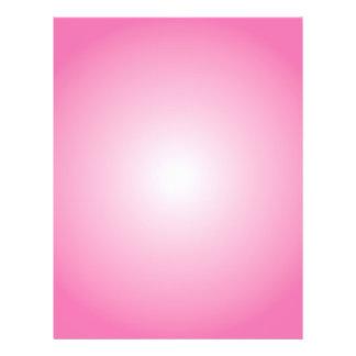 Flyer Template: Radial Gradient: Pink