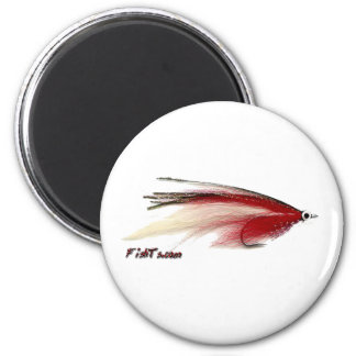 Flyfishing bait, tackle, lure, 6 cm round magnet