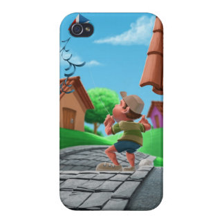 flying a kite iPhone 4/4S case