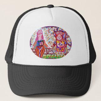 Flying Angels - Alien Visitors Trucker Hat