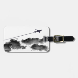 Flying Away/Jet Airplane/Personalized Pilot Luggage Tag