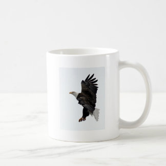 Flying Bald Eagle Coffee Mug