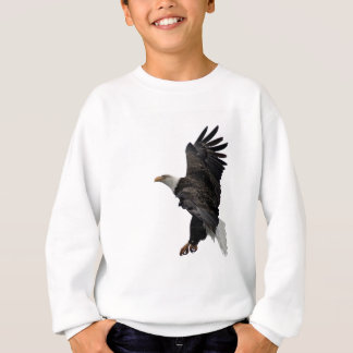 Flying Bald Eagle Sweatshirt