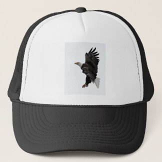 Flying Bald Eagle Trucker Hat