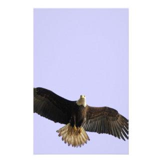 Flying Bald Eagle Wildlife Gift Customized Stationery