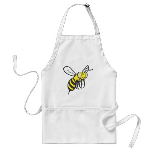 Flying Bee Insect Aprons