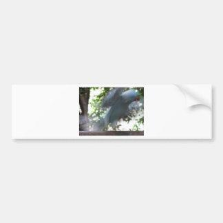 Flying Bird Car Bumper Sticker