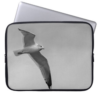 Flying bird laptop sleeve