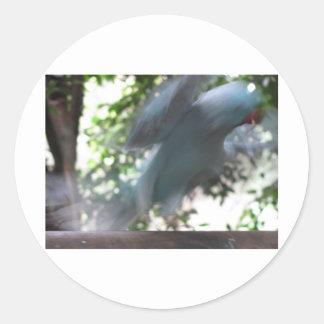 Flying Bird Round Sticker