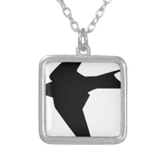 Flying Bird Silver Plated Necklace