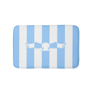 Flying Bird with Lines Bath Mat