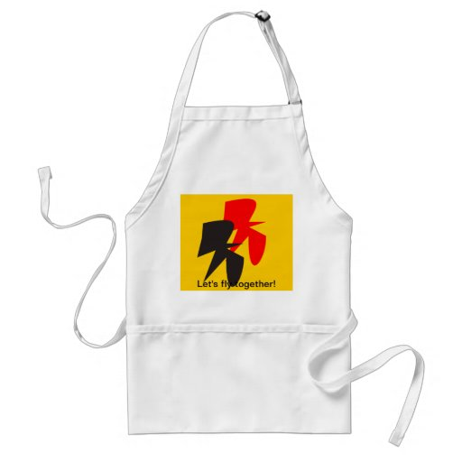 Flying Birds in German colours Apron