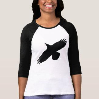 Flying Black Raven Wildlife Shirt