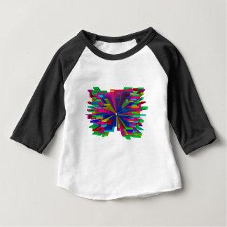 Flying Blocks Design Element Baby T-Shirt