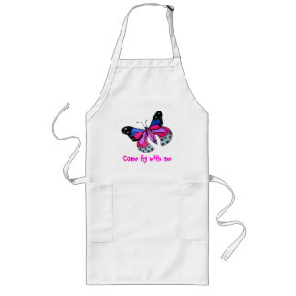 Flying Butterfly Long Apron